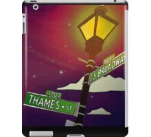 South Broadway and Thames Street iPad Case/Skin