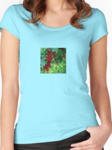 Red currants. II Women's Fitted Scoop T-Shirt