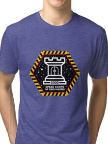 Space Cops of Engineers Tri-blend T-Shirt