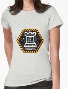 Space Cops of Engineers Womens Fitted T-Shirt