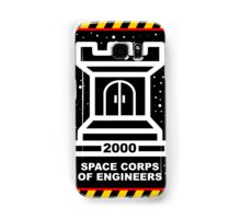 Space Cops of Engineers Samsung Galaxy Case/Skin