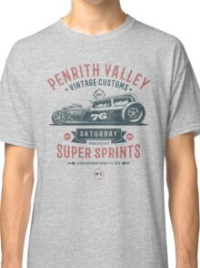 Vintage Customs Super Sprint [Muted Red & Blue] Classic T-Shirt