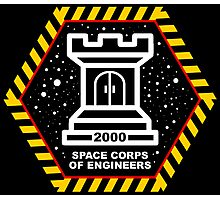Space Cops of Engineers Photographic Print