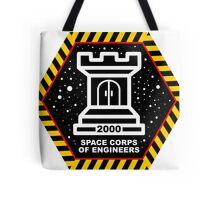 Space Cops of Engineers Tote Bag