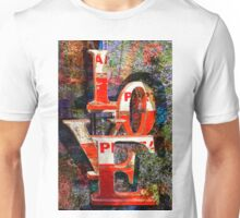 LOVE Happy Valentines day card Unisex T-Shirt
