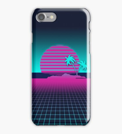 Neon Sunset iPhone Case/Skin