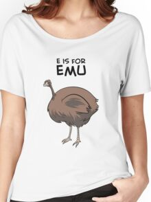 E is for Emu Women's Relaxed Fit T-Shirt