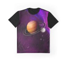 An unknown planet in space. Graphic T-Shirt