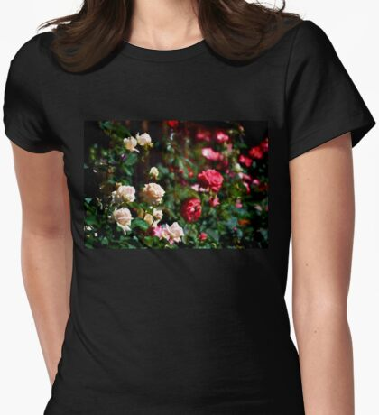 Rose 376 Womens Fitted T-Shirt