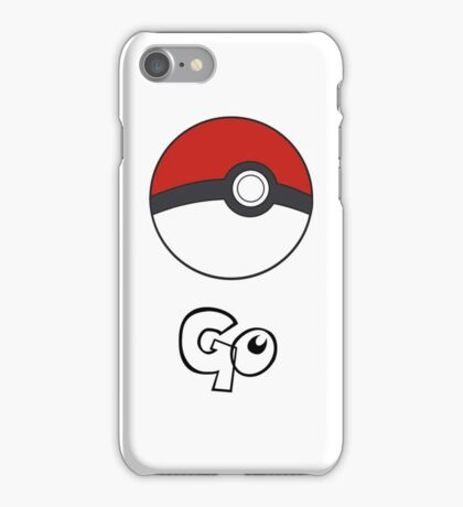 Pokemon Go - Go iPhone Case/Skin