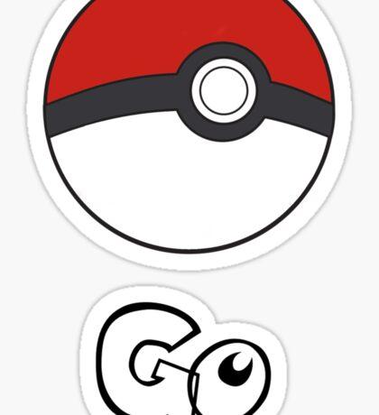 Pokemon Go - Go Sticker