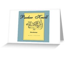 Parker Knoll x The Parent Trap Greeting Card