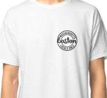 Boston Locals Only - White Classic T-Shirt