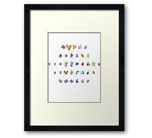 All My Legendary Eggs Framed Print
