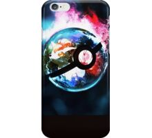 pokemon ball iPhone Case/Skin