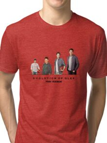 Evolution of Glee || Finn Hudson Tri-blend T-Shirt