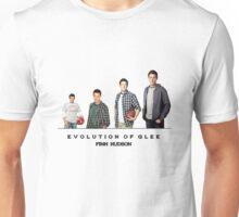 Evolution of Glee    Finn Hudson Unisex T-Shirt