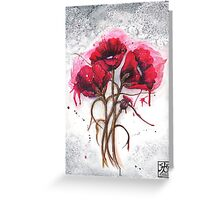 Lisa's Poppies Greeting Card