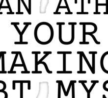 Atheism Joke Ass Booty Humor Cute Sex  Sticker