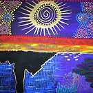 TRIBAL SERIES:  Ego and the Status Quo  by WENDY BANDURSKI-MILLER