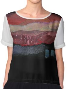 The Volcano Chiffon Top