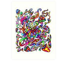Psychedelic Mind Art Print