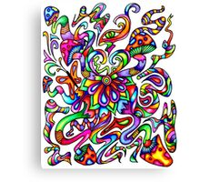 Psychedelic Mind Canvas Print