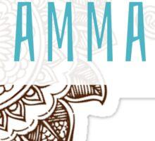 Gamma Phi Tribal Sticker
