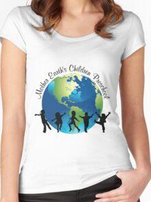 Mother Earth Children's Pre-School Women's Fitted Scoop T-Shirt