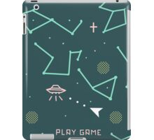 asteroids 8 bits iPad Case/Skin