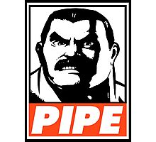 Haggar Pipe Obey Design Photographic Print