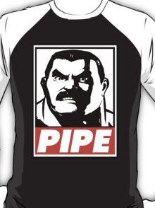 Haggar Pipe Obey Design T-Shirt