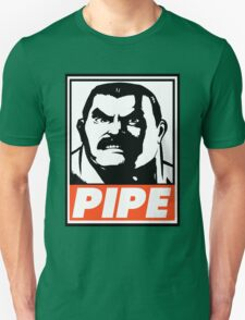 Haggar Pipe Obey Design Unisex T-Shirt