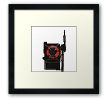 Ghostbusters 2016 - Proton Pack Prototype Framed Print