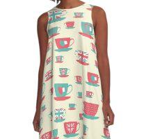 English Tea A-Line Dress