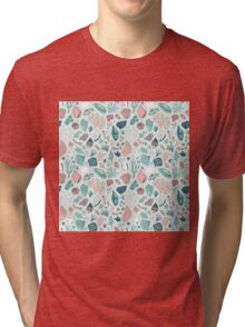 Colourful happy pattern for sea lovers! Tri-blend T-Shirt