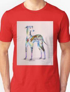 Italian Greyhound Tattoo Dog Unisex T-Shirt