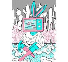 Rabbit Ear TV Photographic Print