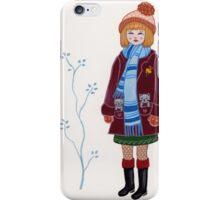 Winter Kitten Pockets iPhone Case/Skin