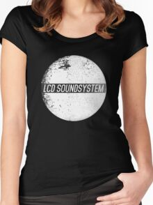 LCD Soundsystem Women's Fitted Scoop T-Shirt