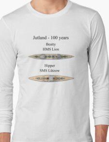 Jutland 100 years - the battlecruisers Long Sleeve T-Shirt