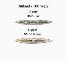 Jutland 100 years - the battlecruisers Unisex T-Shirt