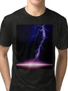 Lightning - very, very frightening Tri-blend T-Shirt