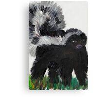 Skunk Canvas Print