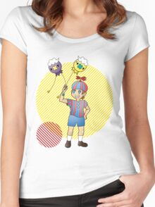FNaF x Pokemon Crossover Women's Fitted Scoop T-Shirt