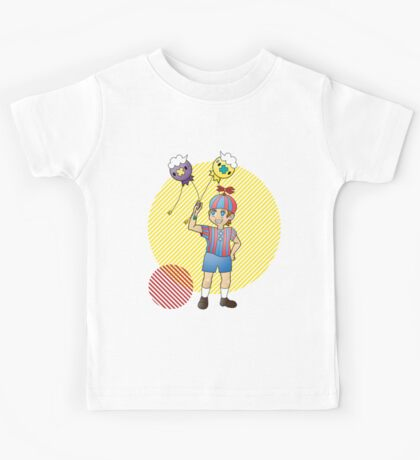 FNaF x Pokemon Crossover Kids Tee