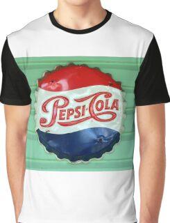 Pepsi Bottle Cap Graphic T-Shirt