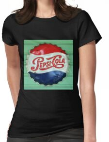 Pepsi Bottle Cap Womens Fitted T-Shirt