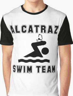 Alcatraz Swim Team Graphic T-Shirt