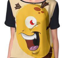 Halloween Monster 5 Chiffon Top